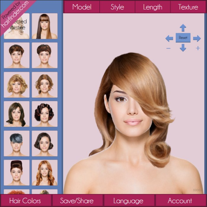 Try hair for free | Try hairstyles on a photo of yourself